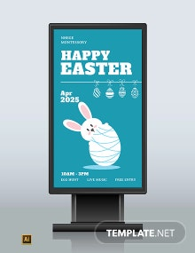 Easter Digital Signage Template