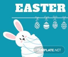 Free Easter Digital Signage Template