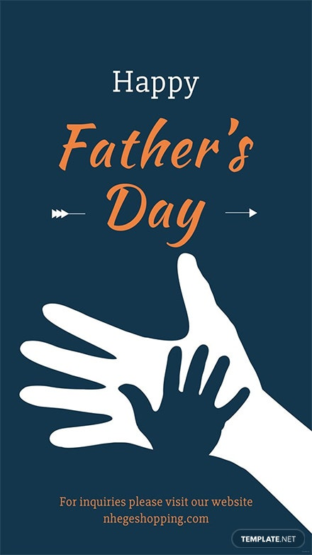Free Father's Day Digital Signage Template