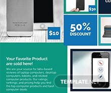 Free Multi Purpose Product Promotional Flyer Template