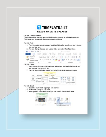 Return Authorization Letter Template