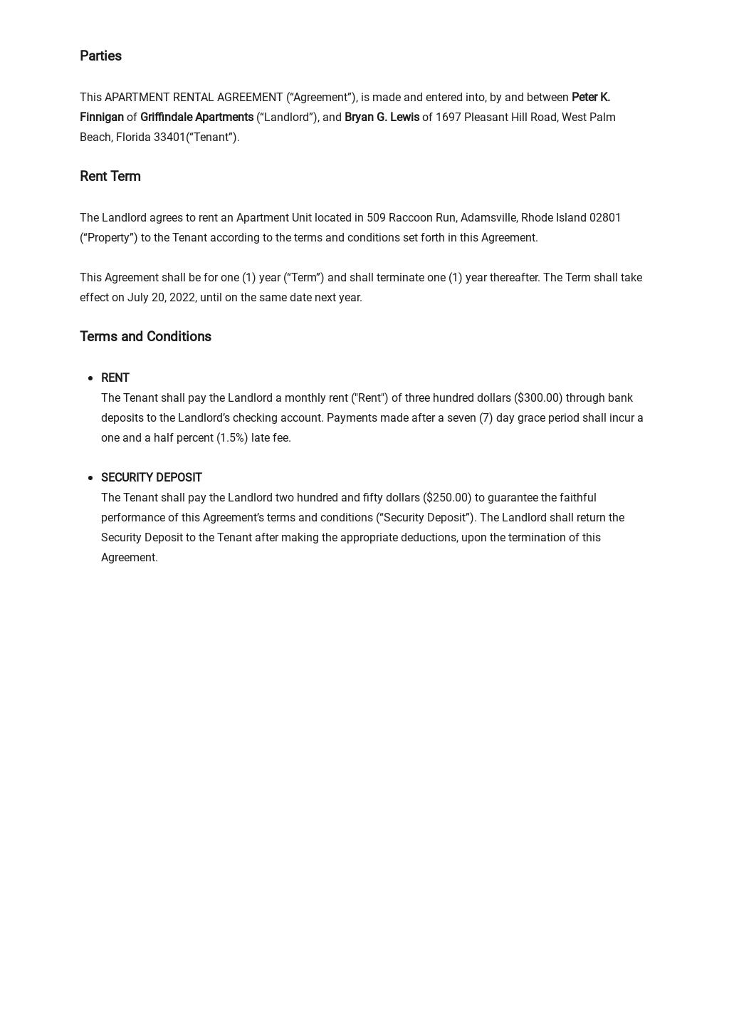 Sample Apartment Rental Agreement Template 1.jpe