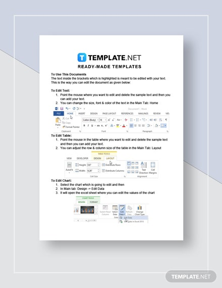 Sample Business Contract Instructions
