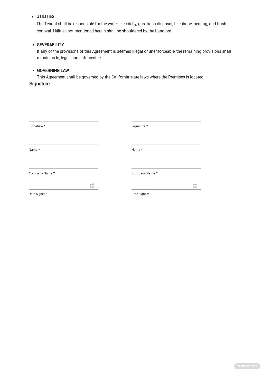 Month to Month Rental Agreement Template 2.jpe