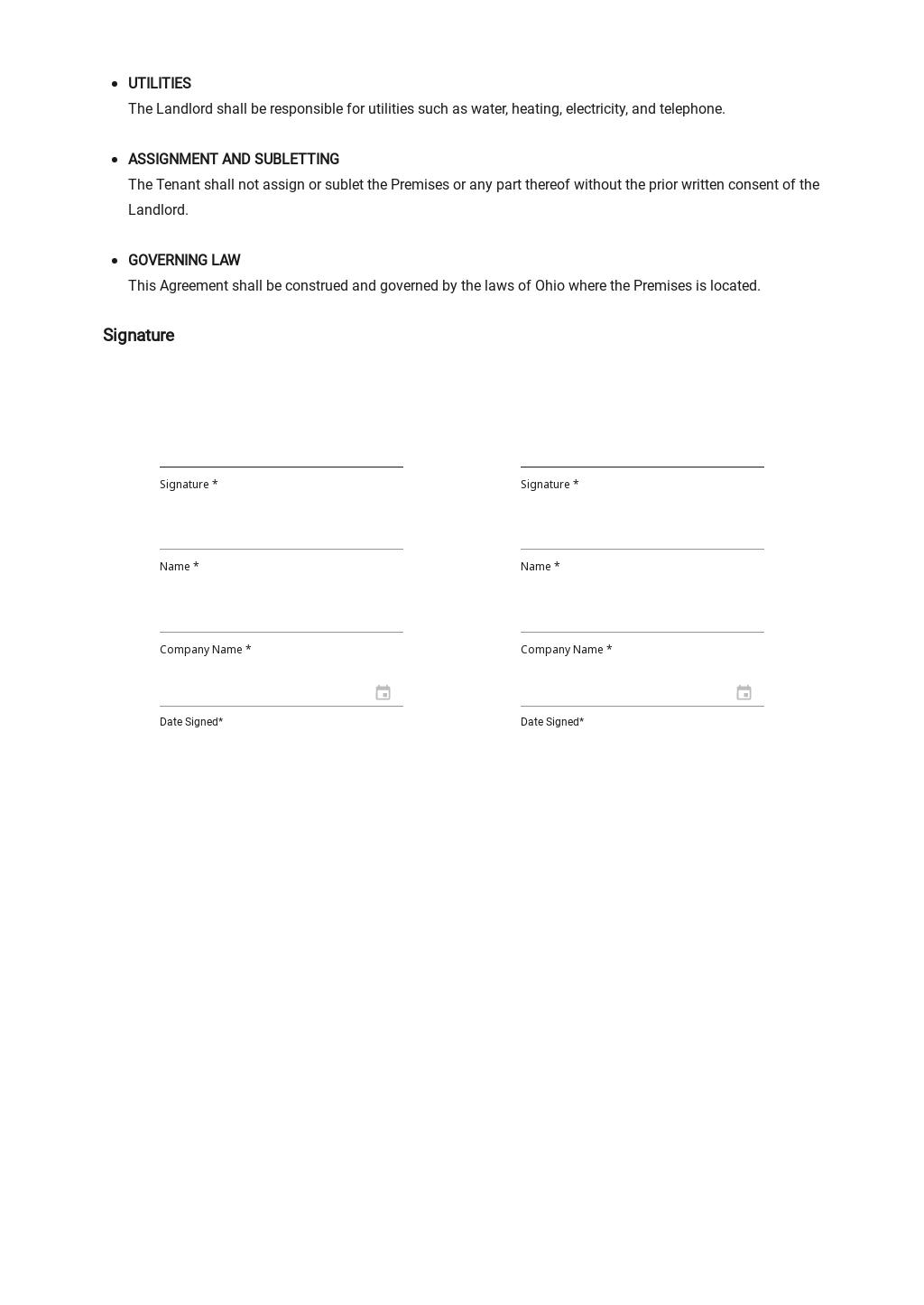 Sample Booth Rental Agreement Template 2.jpe
