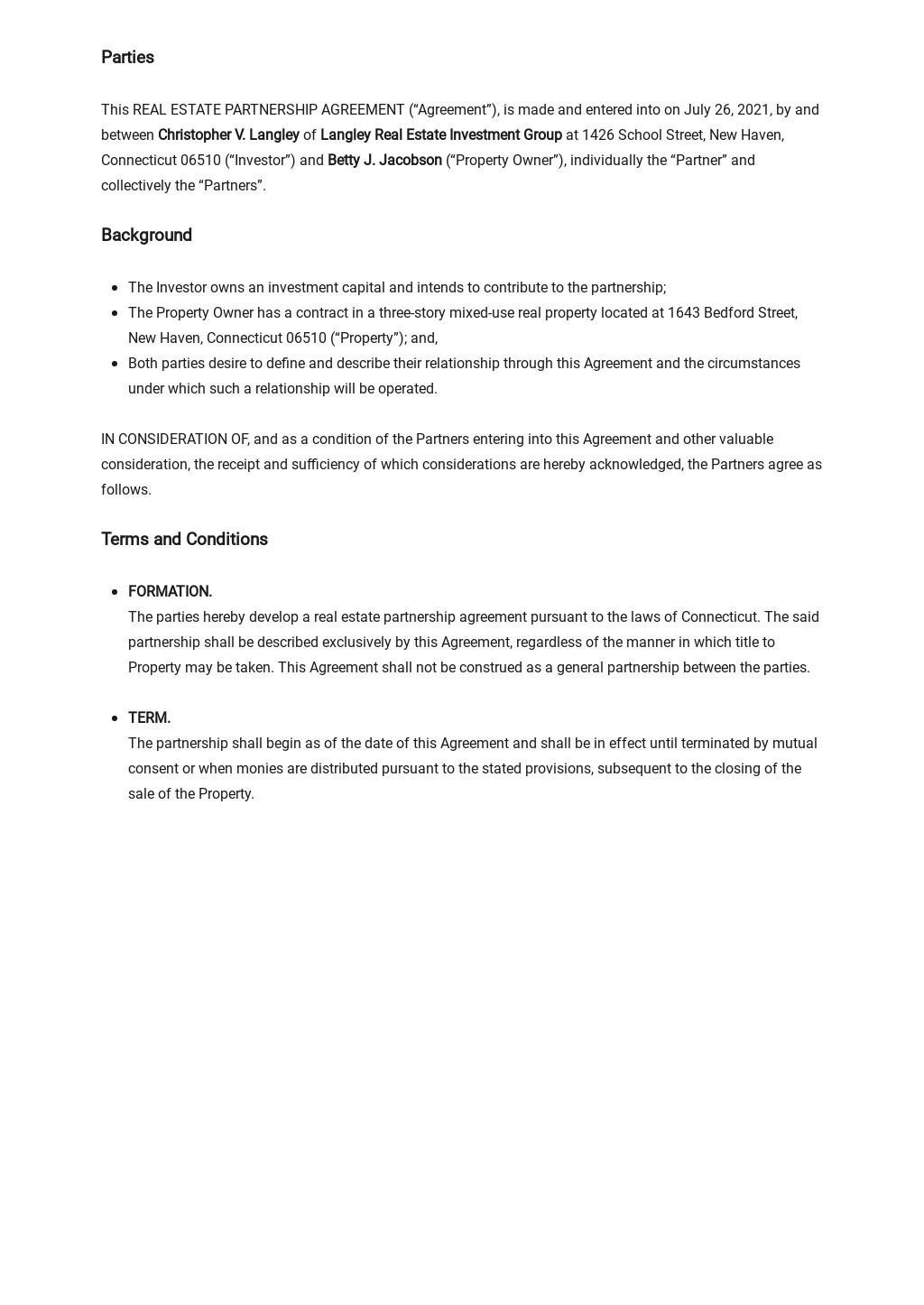 Real Estate Partnership Agreement Template 1.jpe