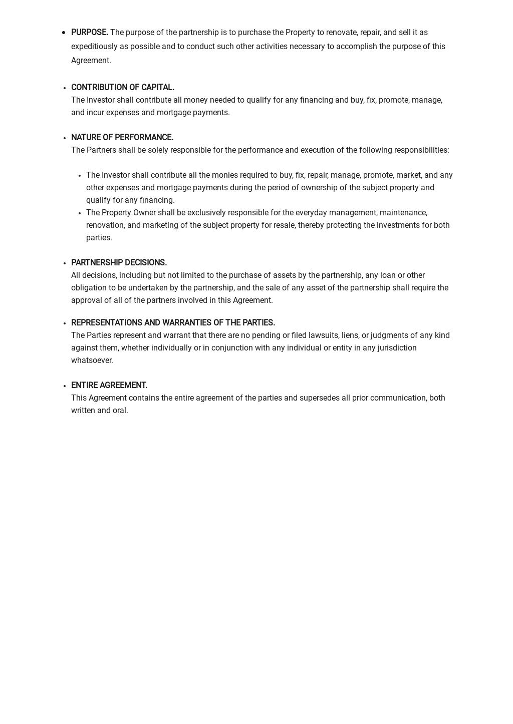 Real Estate Partnership Agreement Template 2.jpe