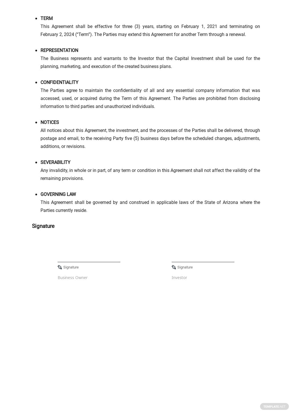 Business Investment Agreement Template 2.jpe