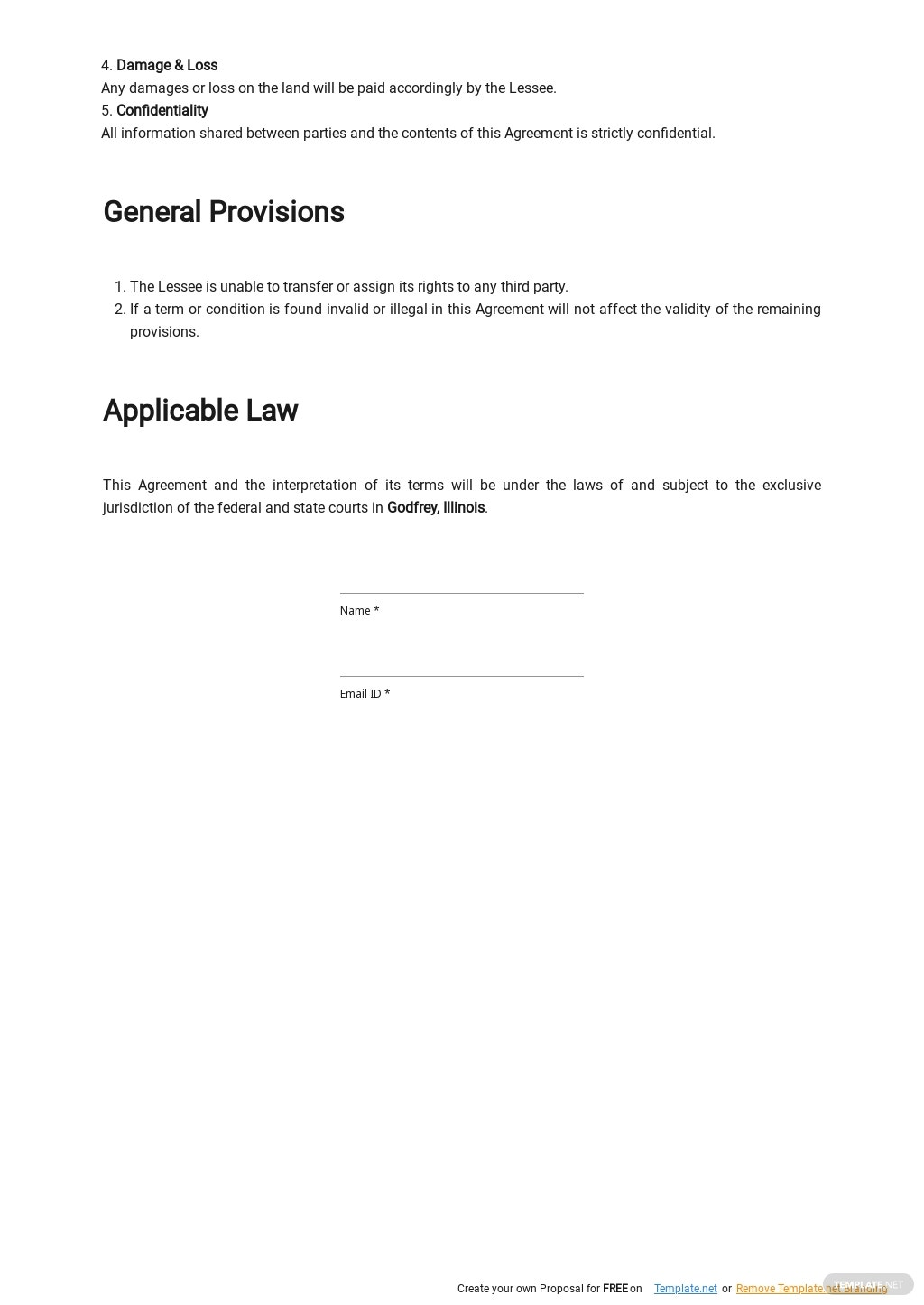 Sample Land Lease Agreement Template 2.jpe