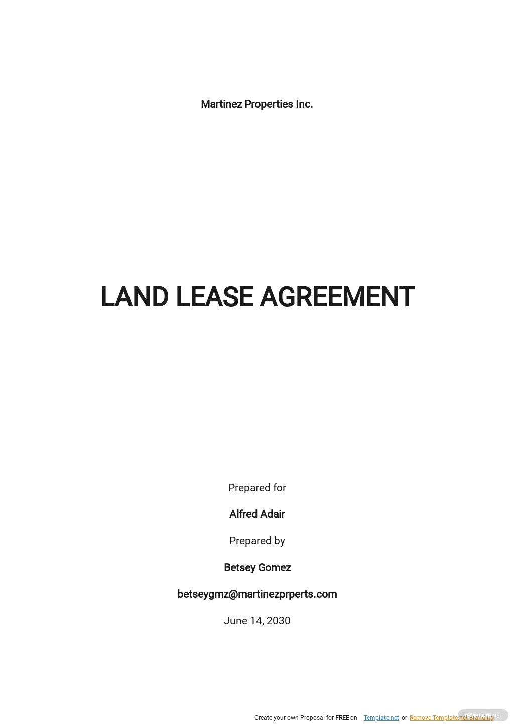 Sample Land Lease Agreement Template.jpe