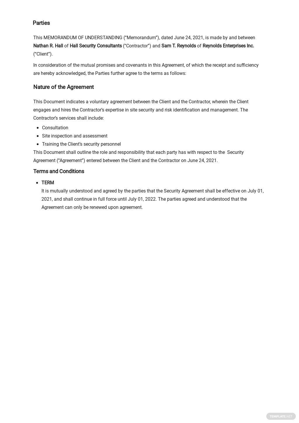 Sample Memorandum of Understanding Template 1.jpe