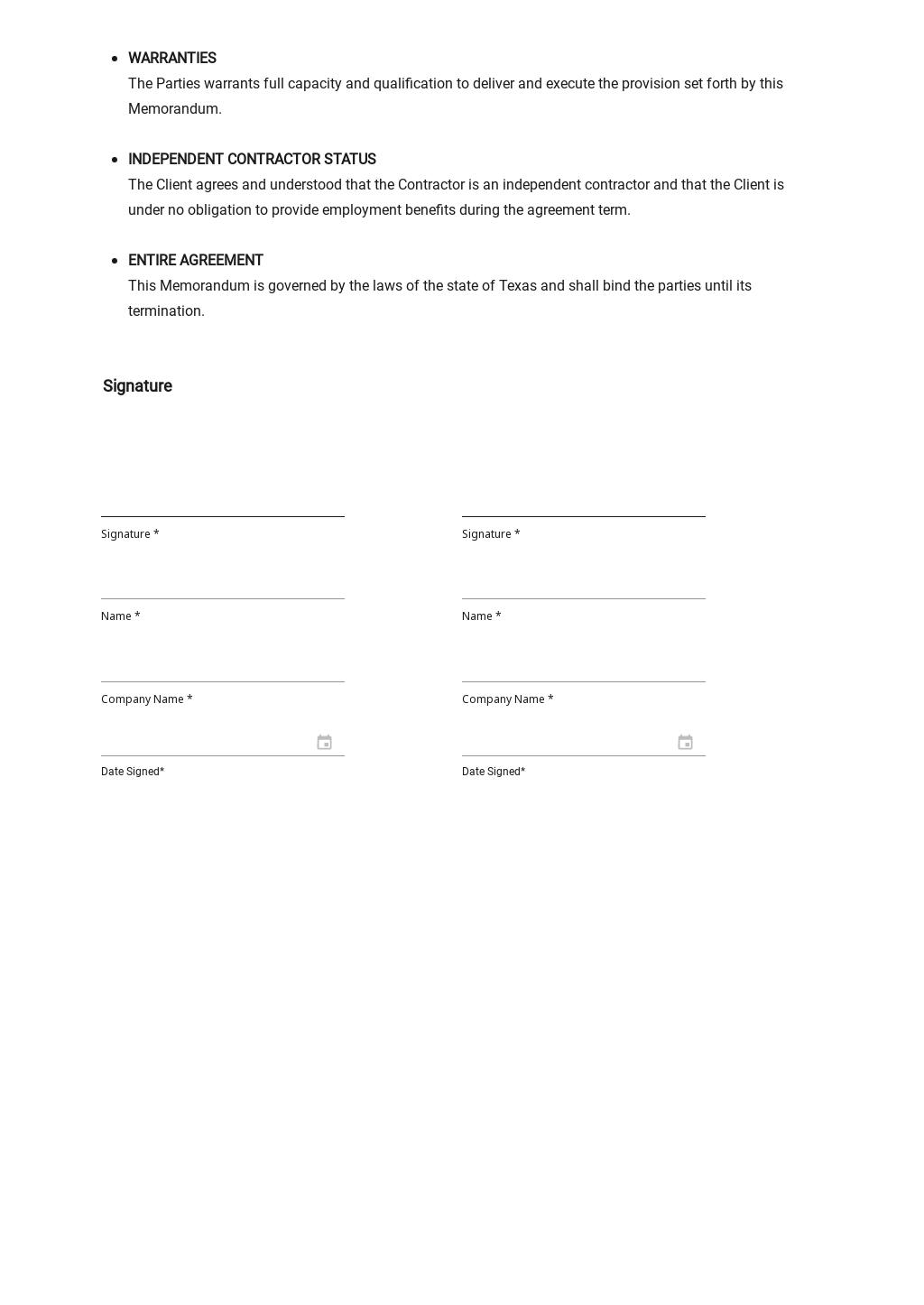 Sample Memorandum of Understanding Template 3.jpe