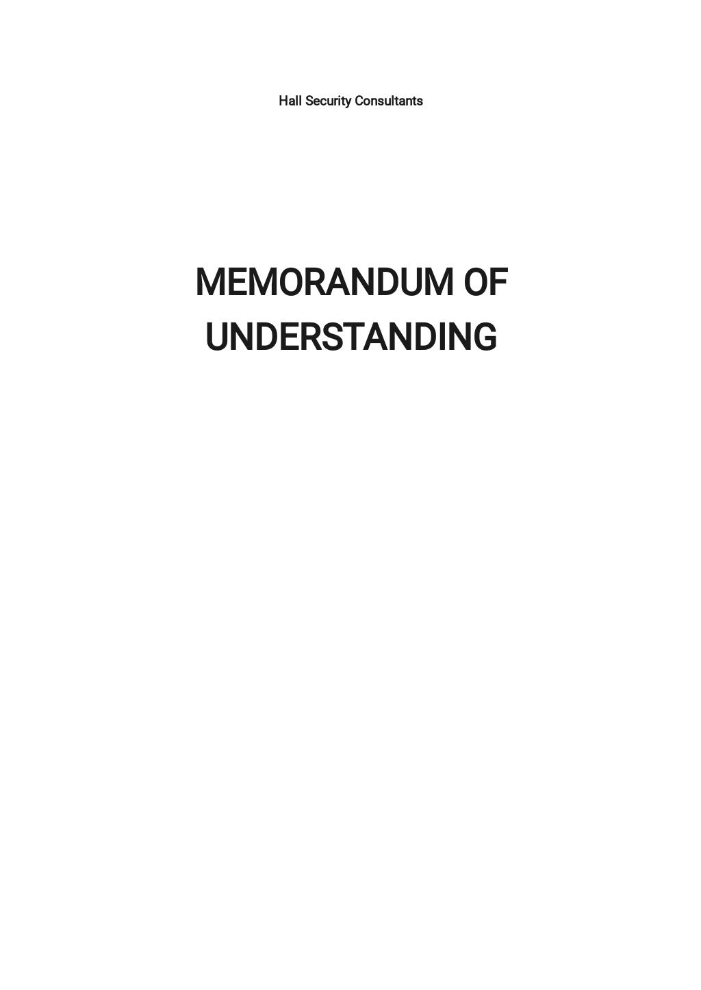 Sample Memorandum of Understanding Template.jpe