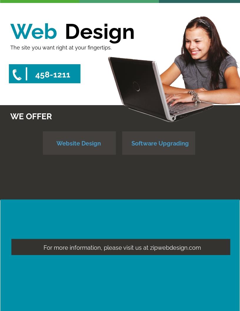 Website Design Flyer Template.jpe
