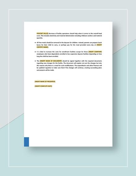 Sample Strategy Memo Download