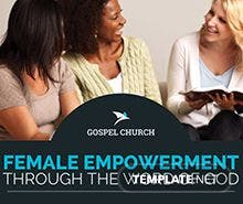 Women Church Flyer Template