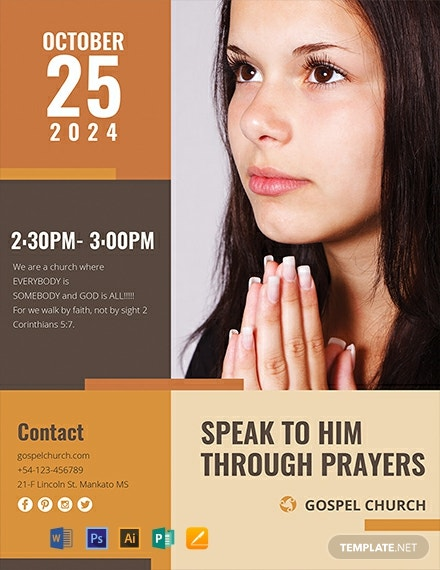 Women of Prayer Church Template