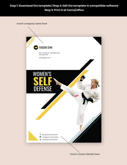 Womens SelfDefense Flyer Format