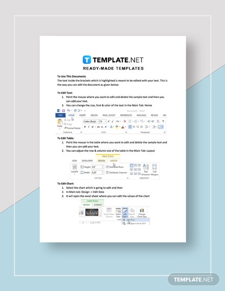 commercial invoice Instructions