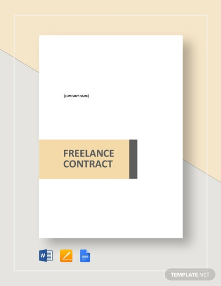 Simple Freelance Contract Template