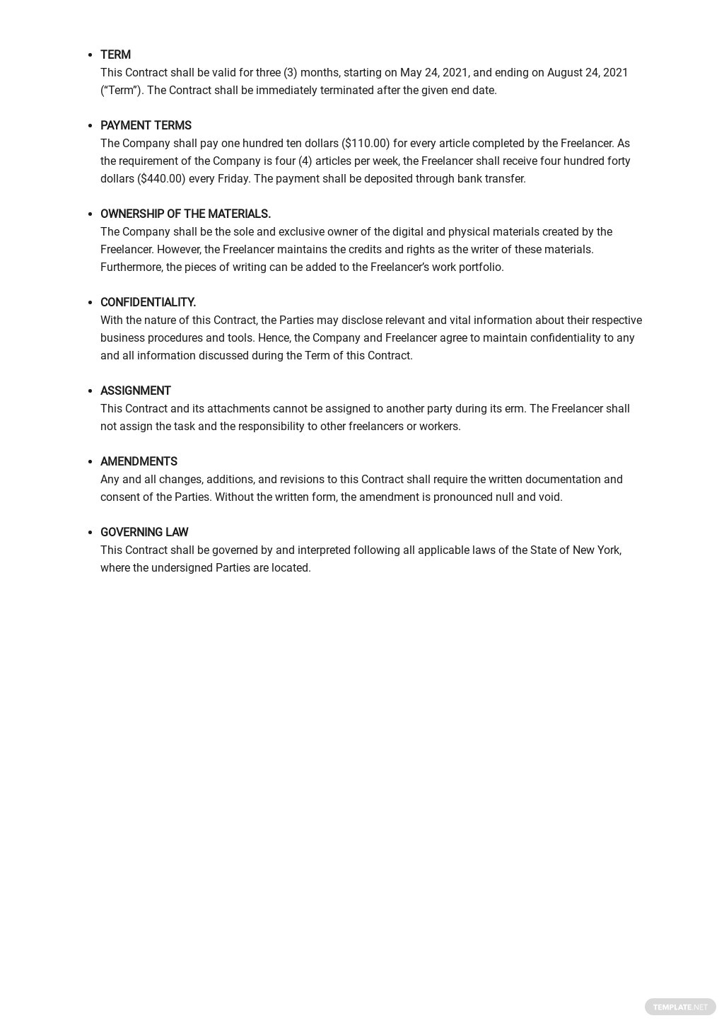 Simple Freelance Contract Template 2.jpe