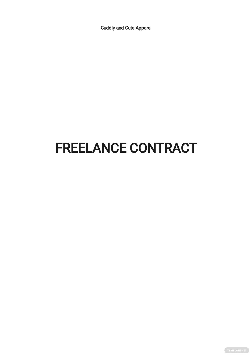 Simple Freelance Contract Template.jpe