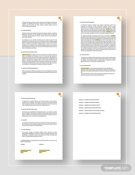Employment Contract Download