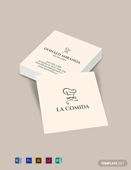 Business Card Template Word Doc