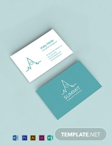 Free Medical Business Card Template