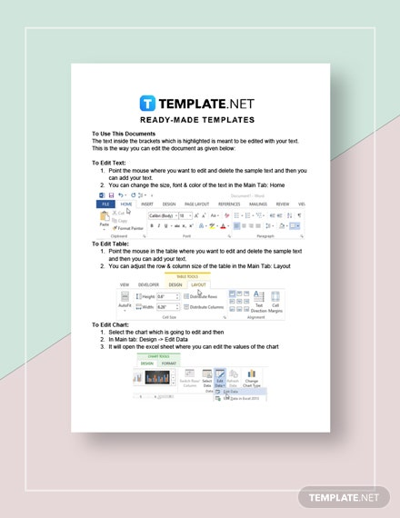 simple purchase order Instructions