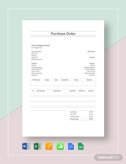 free simple order confirmation template  download 75