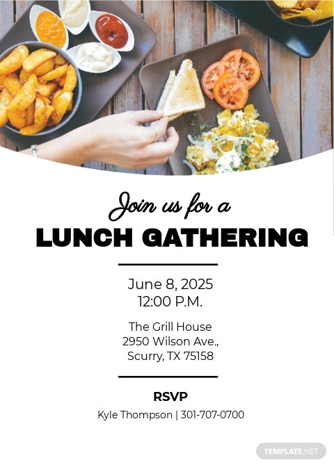 Free Simple Lunch Invitation Template.jpe