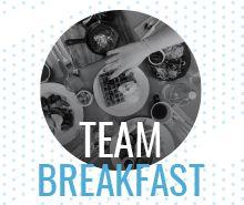Team Breakfast Invitation Template