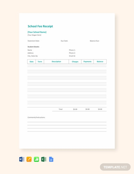 School-Fee-Receipt-Template