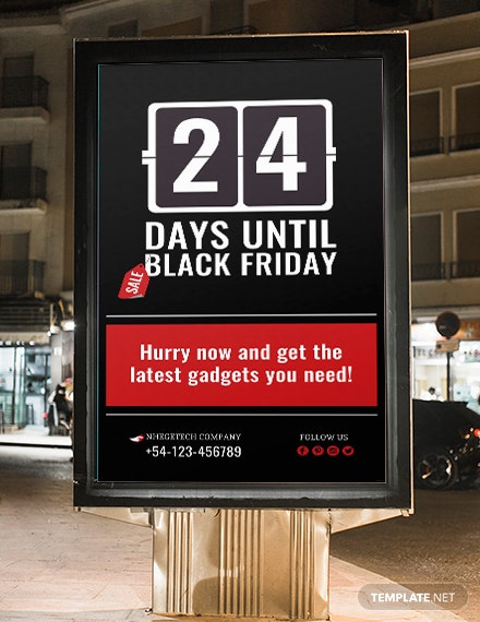 Free Countdown for Special Events Digital Signage Template