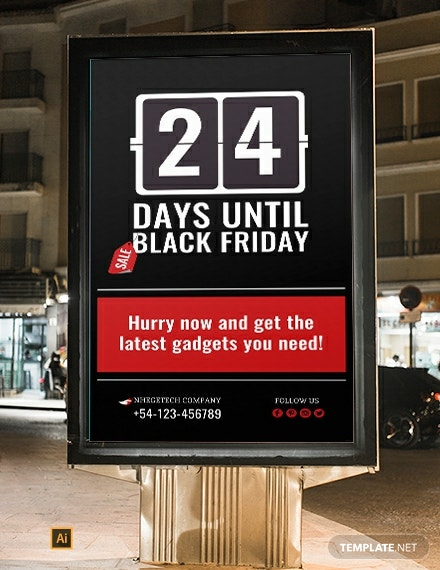 FREE Countdown for Special Events Digital Signage Template: Download