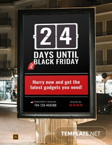 Countdown for Special Events Digital Signage Template