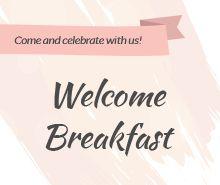Free Welcome Breakfast Invitation Template