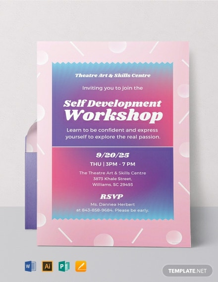 Free Workshop Invitation Template