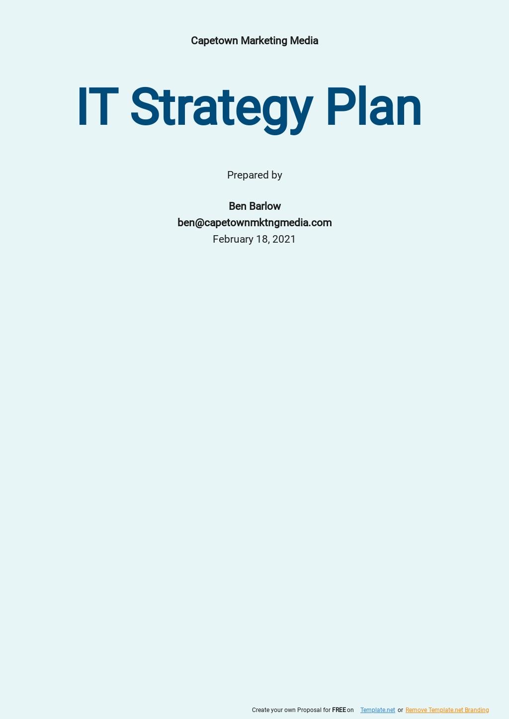 IT Strategy Plan Template.jpe