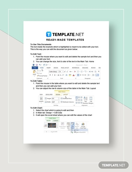 Simple Monthly Budget Worksheet Instructions