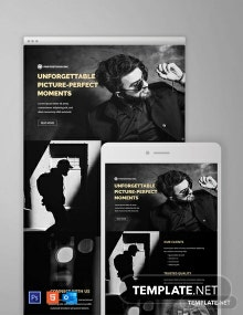 Free Photography Email Newsletter Template