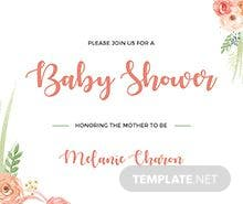 Free princess baby shower invitation template in microsoft word free baby shower invitation template filmwisefo
