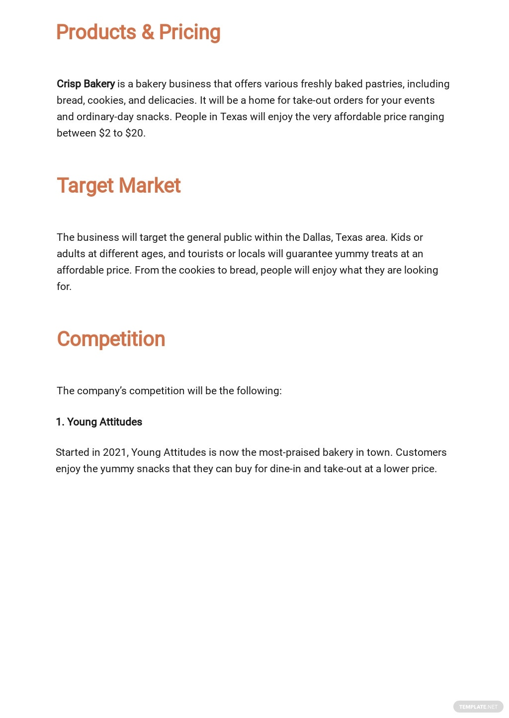 Bakery Business Plan Template 2.jpe