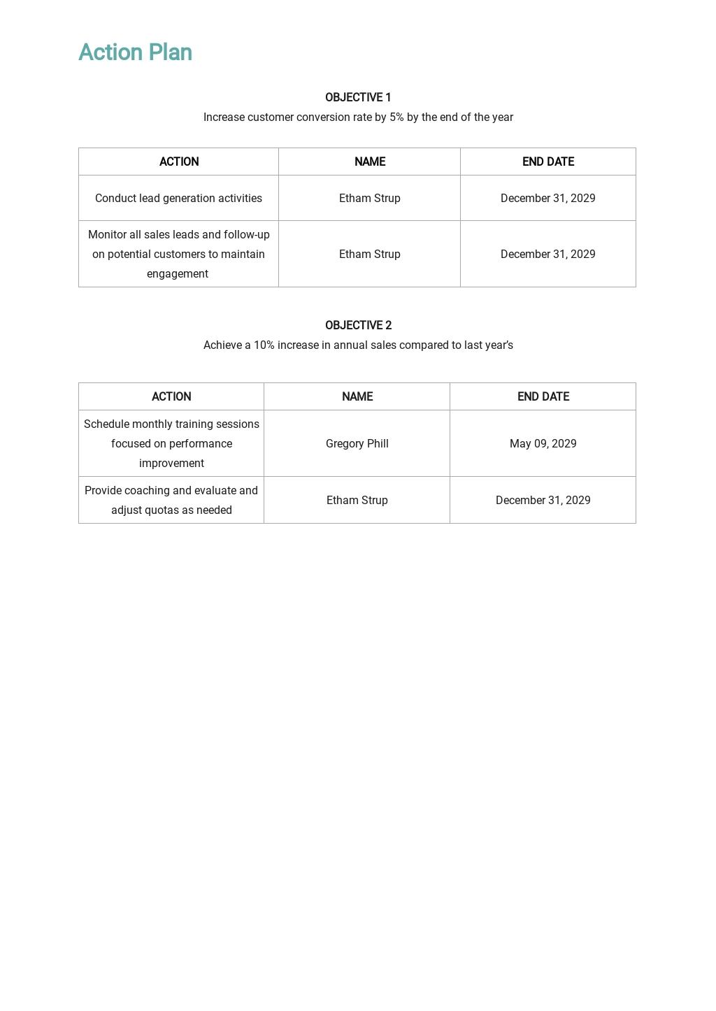 Sample Sales Plan Template 3.jpe