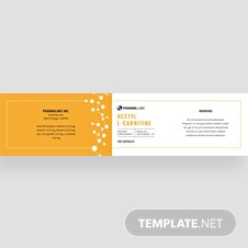 Free Pill Bottle Label Template
