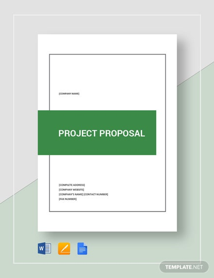 Simple Project Proposal Template