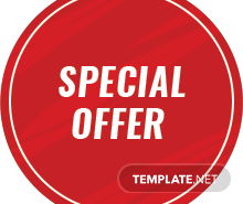 Free Promotional Label Template