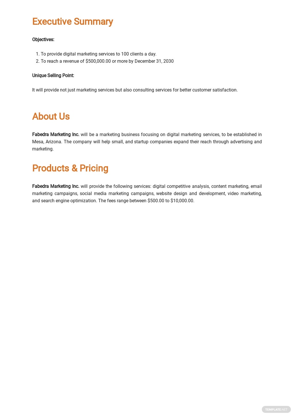 Sample Marketing Business Plan Template 1.jpe