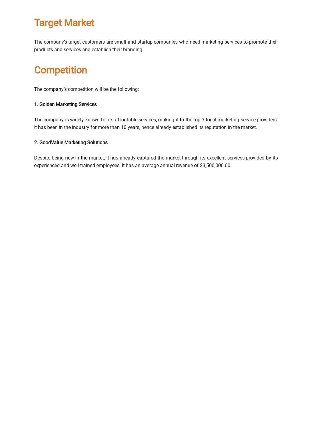 Sample Marketing Business Plan Template 2.jpe